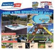 pool & spa spectacular sale pool & spa spectacular ... - American Sale