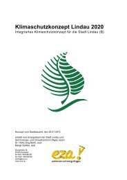 Klimaschutzkonzept Lindau 2020