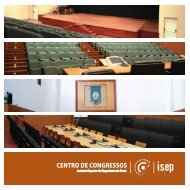 centro de congressos - Instituto Superior de Engenharia do Porto