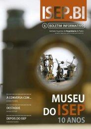 Boletim Informativo - Instituto Superior de Engenharia do Porto