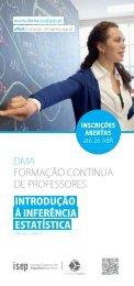 Introdução à Inferência Estatística - Instituto Superior de Engenharia ...