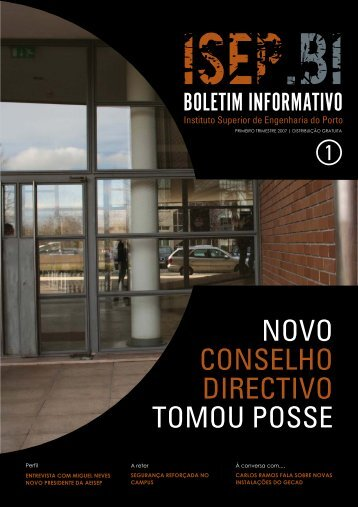 novo conselho directivo tomou posse - Instituto Superior de ...