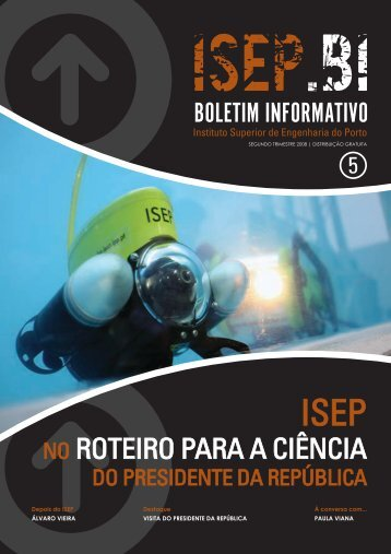 boletim informativo - Instituto Superior de Engenharia do Porto ...