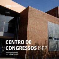 centro de congressos isep - Instituto Superior de Engenharia do Porto