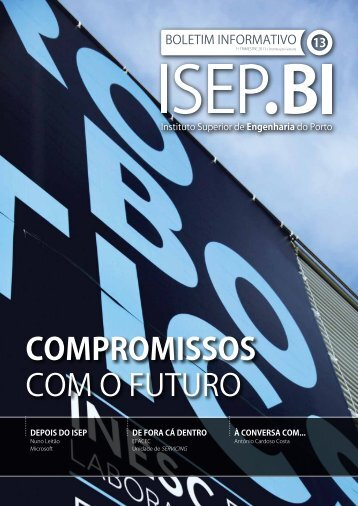 compromissos com o futuro - Instituto Superior de Engenharia do ...