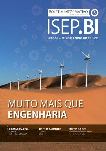 1º Workshop Água para a Sustentabilidade - Instituto Superior de ...
