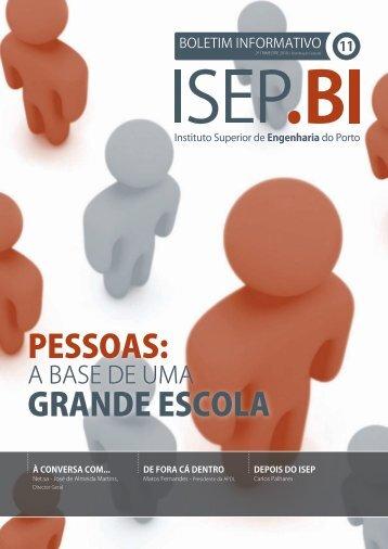 pessoas: grande escola - Instituto Superior de Engenharia do Porto ...
