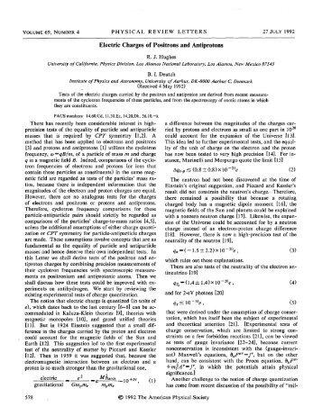 View - Fundamental Atomic Physics at Swansea