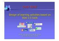 Goran Bubaš Design of learning activities based on Web ... - Eqibelt