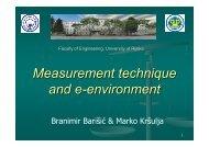 Measurement technique and e-environment - Eqibelt