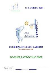 CLUB BALONCESTO LAREDO DOSSIER ... - Tu patrocinio