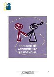 RECURSO DE ACOGIMIENTO RESIDENCIAL - Tu patrocinio