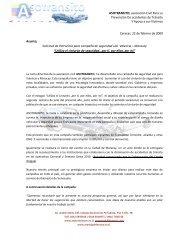 ASOTRANSITO, asociación Civil Para La Prevención ... - Tu patrocinio