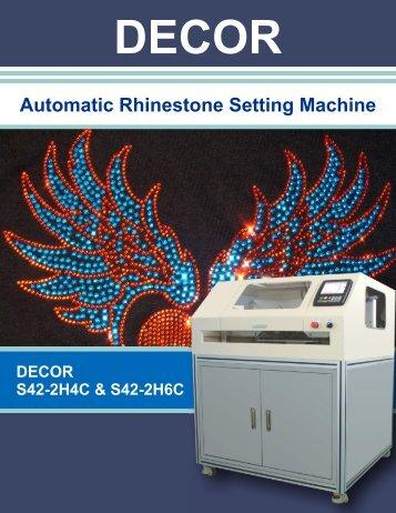 DECOS Automatic Rhinestone Setting Machine - GoExpo