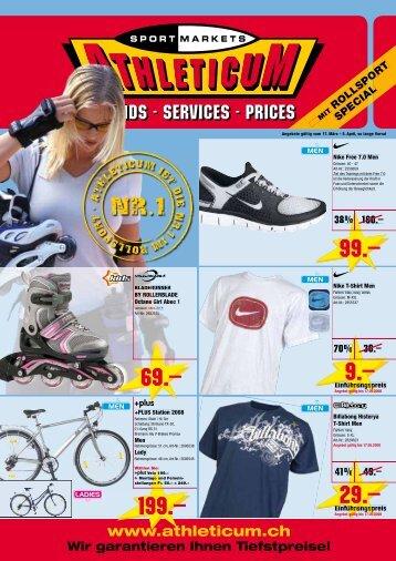 Der neue Bike Katalog 2008 ist da! - Athleticum