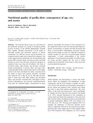 Nutritional quality of gorilla diets: consequences of age, sex, and ...