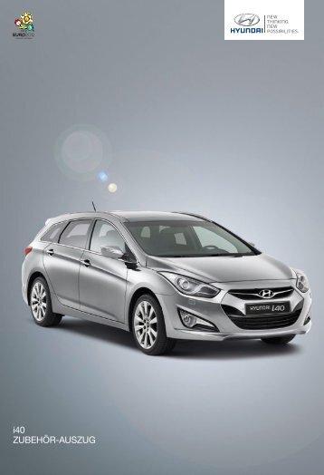 Zubehör für den Hyundai i40 und i40cw - Autohaus Spagl KG