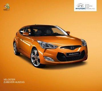 für den Hyundai VELOSTER - Autohaus Spagl KG