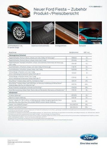 Neuer Ford Fiesta - Autohaus Spagl KG