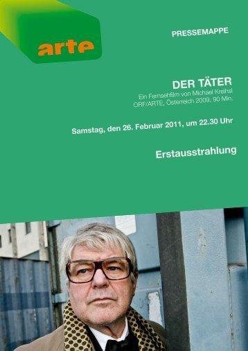 zum fIlm Der täter samstag, den 26. februar 2011, um 22.30 uhr