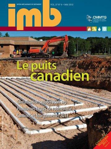Mai 2012 - Vol. 27, no 4 - CMMTQ
