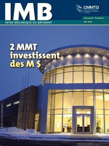 IMB - mai 2005 - CMMTQ