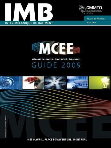 IMB - mars 2009 - Guide officiel de MCEE 2009 - CMMTQ