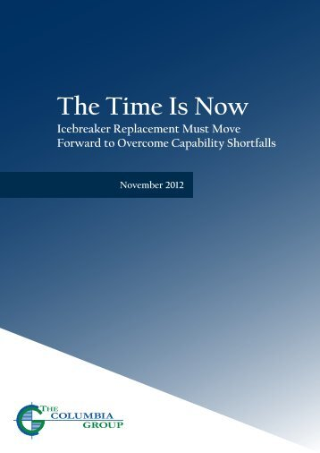 Icebreaker Replacement - The Columbia Group