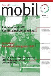 Fahrradfreundlich mobil, Heft 7, Juni 2002 - Arbeitsgemeinschaft ...