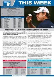 Westwood is California dreaming at Pebble Beach - European Tour