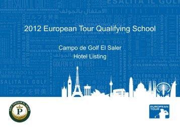 2012 European Tour Qualifying School