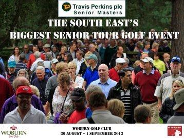 Travis Perkins plc Senior Masters - European Tour