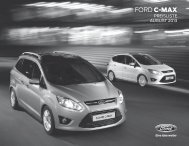 Ford Grand C-MAX Preisliste