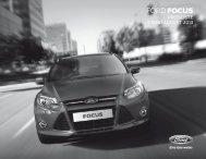 Ford Focus Preisliste
