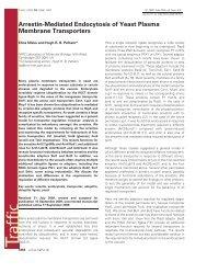 Arrestin-Mediated Endocytosis of Yeast Plasma Membrane ...