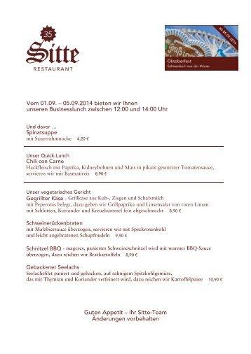 Businesslunch #35 2014