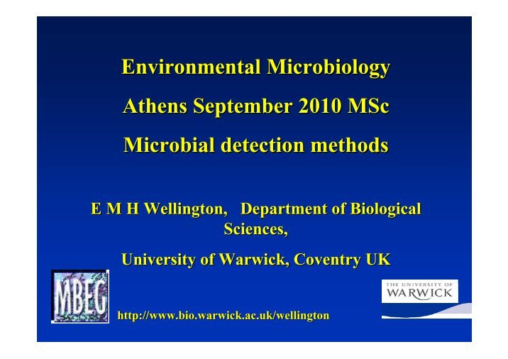environmental microbiology Contact information graduate program in microbiology 1140 batchelor hall tel: (800) 735-0717 or (951) 827-5688 fax: (951) 827-5517 e-mail: lauramcgeehan@ucredu department of plant pathology and microbiology.