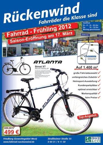 Fr 10 - Fahrradladen Rückenwind