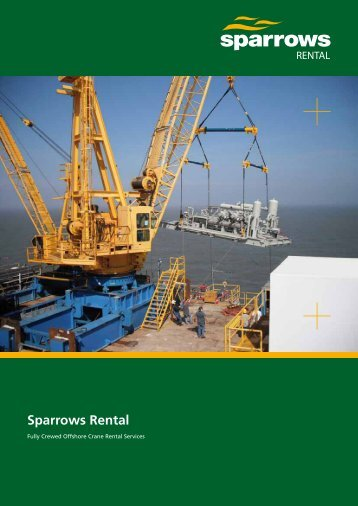 Sparrows Rental 8 page brochure (Asia Pacific version)