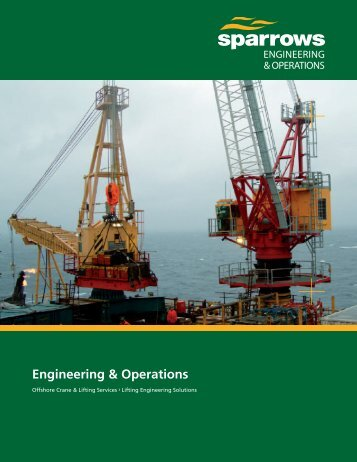 Sparrows Engineering & Operations 12 page brochure (US version)
