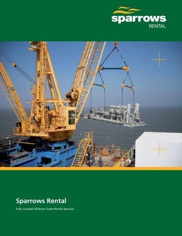 Sparrows Rental 8 page brochure (US version)