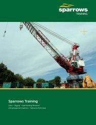 Sparrows Training 8 page brochure (US version)