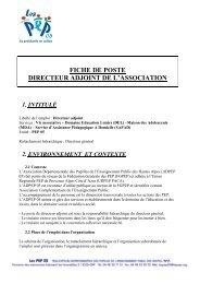 Fiche De Poste Gardien D Immeuble Loge 04 2012 Pdf
