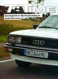 Audi 200 Turbo - Audi 100