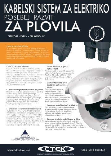 CTEK AC-POWER SYSTEM- SLO LETAK - pdf
