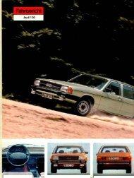Fahrbericht Audi 100