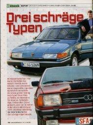 Drei schr' F - Audi 100