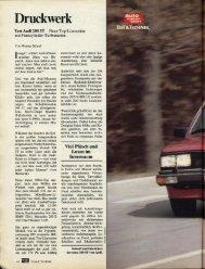 Druckwerk - Audi 100