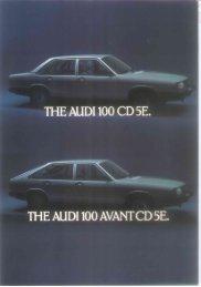 THE AUDI 100 AVANT CD 5E.