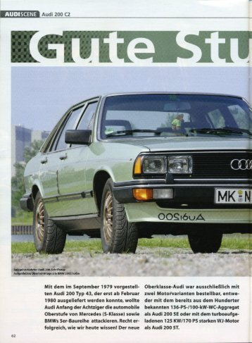 Audi 200 5E - Audi 100